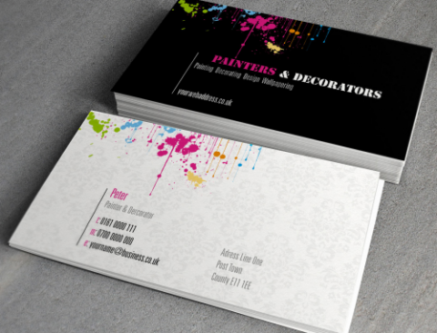 Business card 400gsm silk matt laminated creative print works business card 400gsm silk matt laminated business cards colourmoves Image collections
