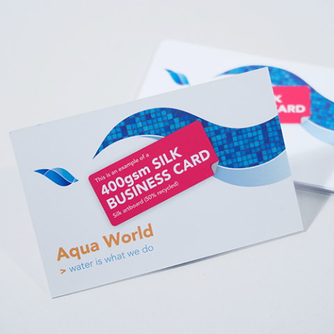 Business card 400gsm silk creative print works 400gsm silk business card reheart Choice Image