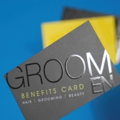 Business printing services nottingham creative print works business cards printed business cards in a variety of finishes including silk uncoated gloss or matt laminated spot uv embossed foiled reheart Image collections