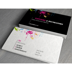 Business cards nottingham creative print works business card 400gsm silk matt laminated reheart Image collections